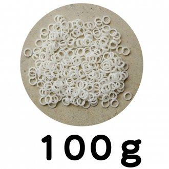 チェーンリング 白  100g
