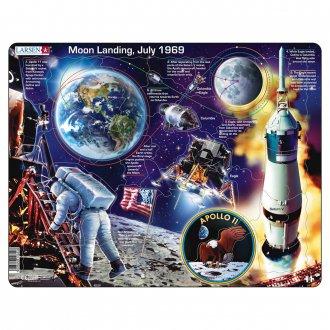 アポロ11号 50ピース紙製パズル LARSEN/ラーセン社