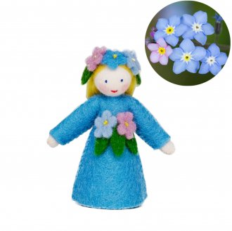 勿忘草Girlホワイト Ambrosius Dolls/アンブロシウス ドール 春の妖精