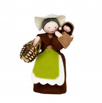 大地のお母さんと種の赤ちゃん 春のスペシャルドール Ambrosius Dolls/アンブロシウスドール 春の妖精