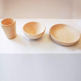 木製食器3点セット
