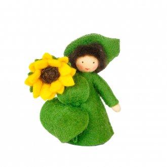 ひまわりBOY ベージュ 手に花 Ambrosius fairy/アンブロシウス フェアリー 夏の妖精