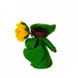 ひまわりBOY ブラック 手に花 Ambrosius fairy/アンブロシウス フェアリー 夏の妖精