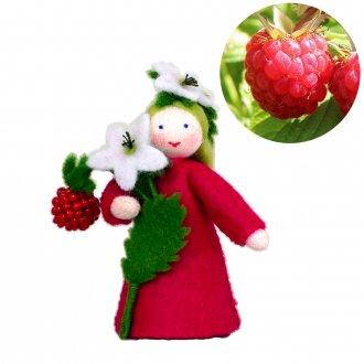 ラズベリーGirl  手に果実 ホワイト スペシャルドール Ambrosius fairy/アンブロシウス フェアリー 夏の妖精
