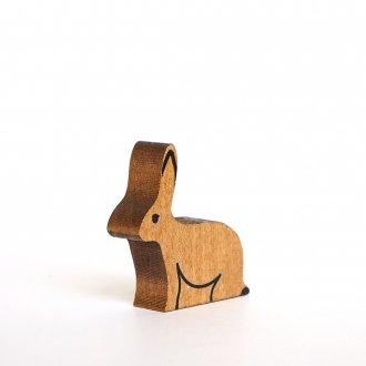 Aウサギ 座  /  アルビスブランの動物積み木