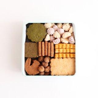秋のおやまのクッキー缶