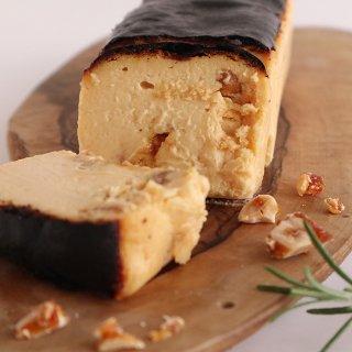 【LINE先行予約】【10月限定・冷凍配送】キャラメルマカダミアナッツのバスクチーズケーキ