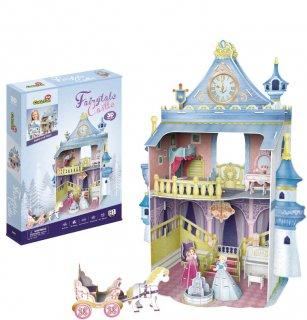 3Dパズル ドールハウス-フェアリーテイル・キャッスル(おとぎのお城)