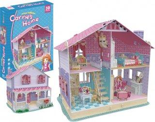 3Dパズル ドールハウス-キャリーズ ホーム