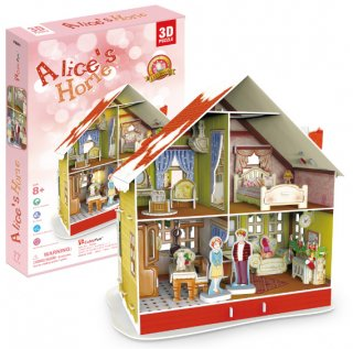 3D パズル クリスマス Alice's Home