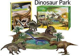 3D パズル ダイナソー パーク(恐竜パーク)