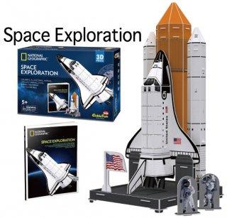 3D パズル スペースエクスプロレーション(宇宙探索)