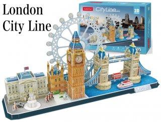 3Dパズル ロンドン シティライン