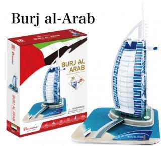 3Dパズル ブルジュ・アル・アラブ