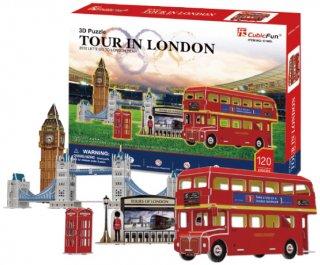 3Dパズル ロンドン ツアー
