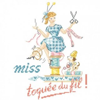 Miss (Toquee du fil ) 図案
