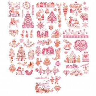再入荷:クリスマスの大きな物語No2/ 50のモチーフ図案