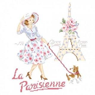 La belle parisienne(美しいパリ) 図案