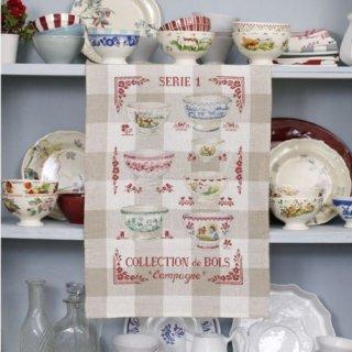 トルション Collection of bowls N°1 (カフェオレボウルコレクション N°1)クロスステッチキット
