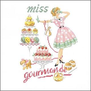 Miss -Macarons (ミスマカロン) 図案