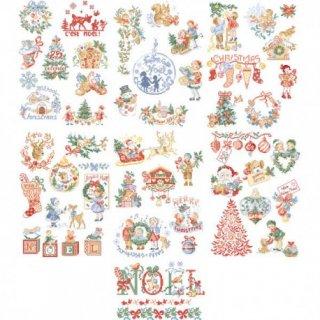 クリスマスの大きな物語No1/ 50のモチーフ 図案