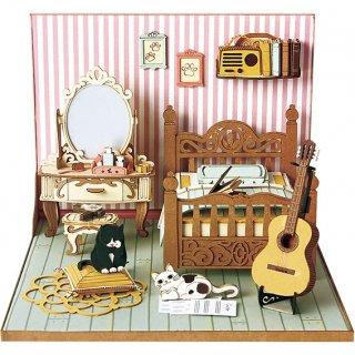 DIY ミニチュア ベッドルーム セット