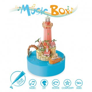 DIY Music Box - サマーアイランド(オルゴール付き)