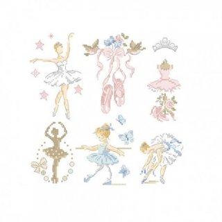 Ballerina-Little story in 6 charts (バレリーナ)図案