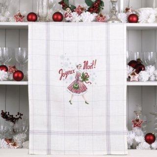 リネン-トルション Noel Vintage (ヴィンテージ クリスマス) クロスステッチキット
