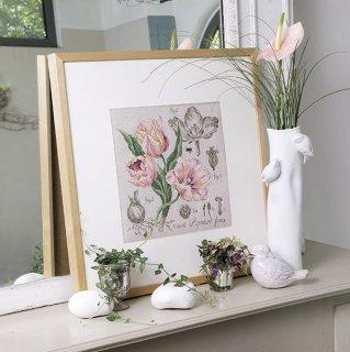 Etude a la Tulipe (maxi-grille) クロスステッチキット