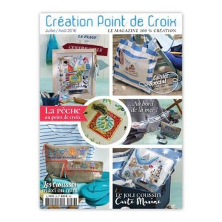 CREATION POINT DE CROIX 2016年7/8月号