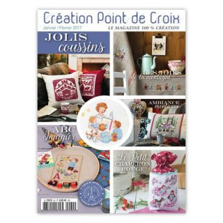 CREATION POINT DE CROIX 2017年1/2月号