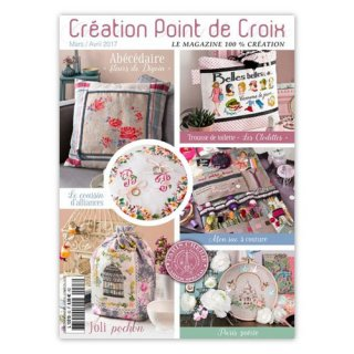 CREATION POINT DE CROIX 2017年3/4月号