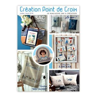 CREATION POINT DE CROIX 2018年7/8月号