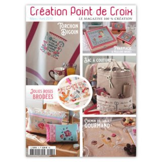CREATION POINT DE CROIX 2019年3/4月号