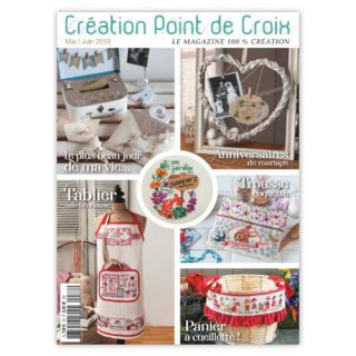 CREATION POINT DE CROIX 2019年5/6月号