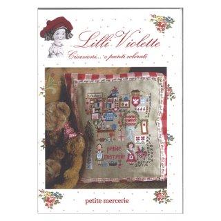 Lilli Violet リリーバイオレットPetit mercerie 小さな手芸屋さん クロスステッチ図案