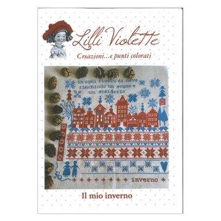 Lilli Violet リリーバイオレット ll mio inverno 私の冬 クロスステッチ図案