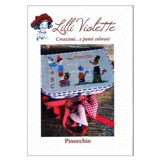 Lilli Violet リリーバイオレット Piniccchio ピノキオ クロスステッチ図案