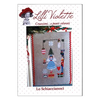 Lilli Violet リリーバイオレットLo shiaccianoci くるみ割り人形 クロスステッチ図案