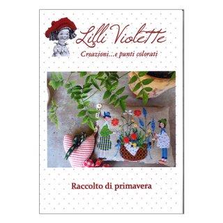 Lilli Violet リリーバイオレットRaccolto di primavera 春の収穫 クロスステッチ図案