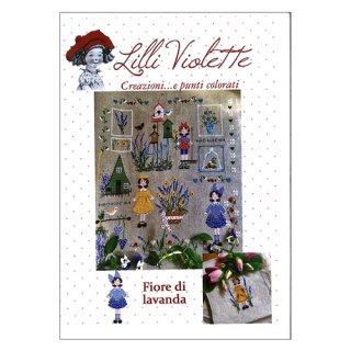 Lilli Violet リリーバイオレット Profumo di Lavanda ラベンダーの香り クロスステッチ図案