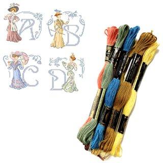 レブロドゥーズパリジェンヌ クロスステッチ用刺繍糸(ベルエポック用)