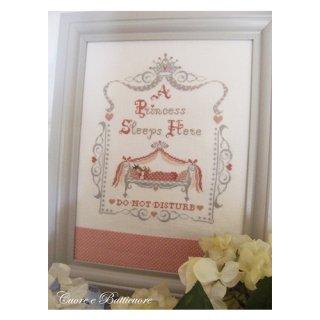 イタリア Cuore e baticuore(クオーレエバッティクオーレ) クロスステッチ図案 Royal baby Pink 赤ちゃんピンク