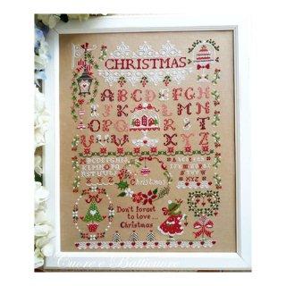 イタリア Cuore e baticuore(クオーレエバッティクオーレ) クロスステッチ図案 Christmas Sampler クリスマスサンプラー