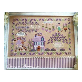 イタリア Cuore e baticuore(クオーレエバッティクオーレ) クロスステッチ図案 Lavande ラベンダー