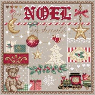 フランス マダムラフェ(素敵なクリスマス) クロスステッチキット