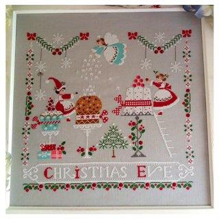 イタリア Cuore e baticuore(クオーレエバッティクオーレ) クロスステッチ図案 Vigilia Di Natale クリスマス・イブ