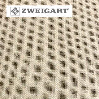 【ドイツ】ツバイガルト(ZWEIGART)クロスステッチ用生地 カシェル リネン28カウント ベージュ(48x68cm)
