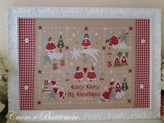 クロスステッチ図案 Natale tra le Stelle 星の間のクリスマス
